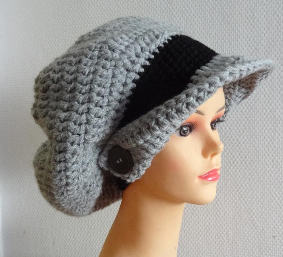 Crocheting Letters Into A Hat : How to Crochet a Beanie Stitch Piece n Purl