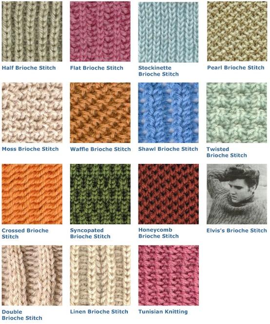 Brioche Stitch Variations Image
