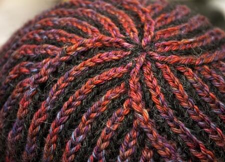 Brioche Stitch in the Round Picture