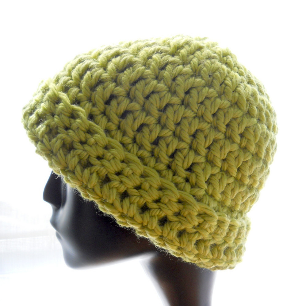 How To Crochet For Beginners : how to crochet a beanie with ear flaps for beginners