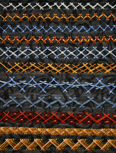 Herringbone Stitch Picture