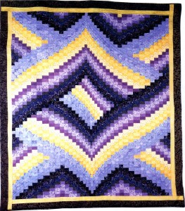 Bargello Quilt Picture