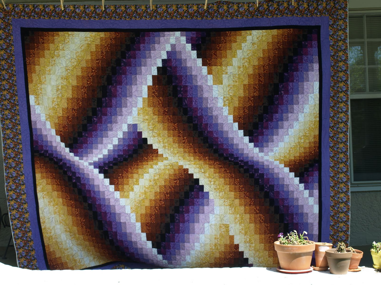 Bargello Quilt - Uses, Instructions and Patterns | Stitch ...