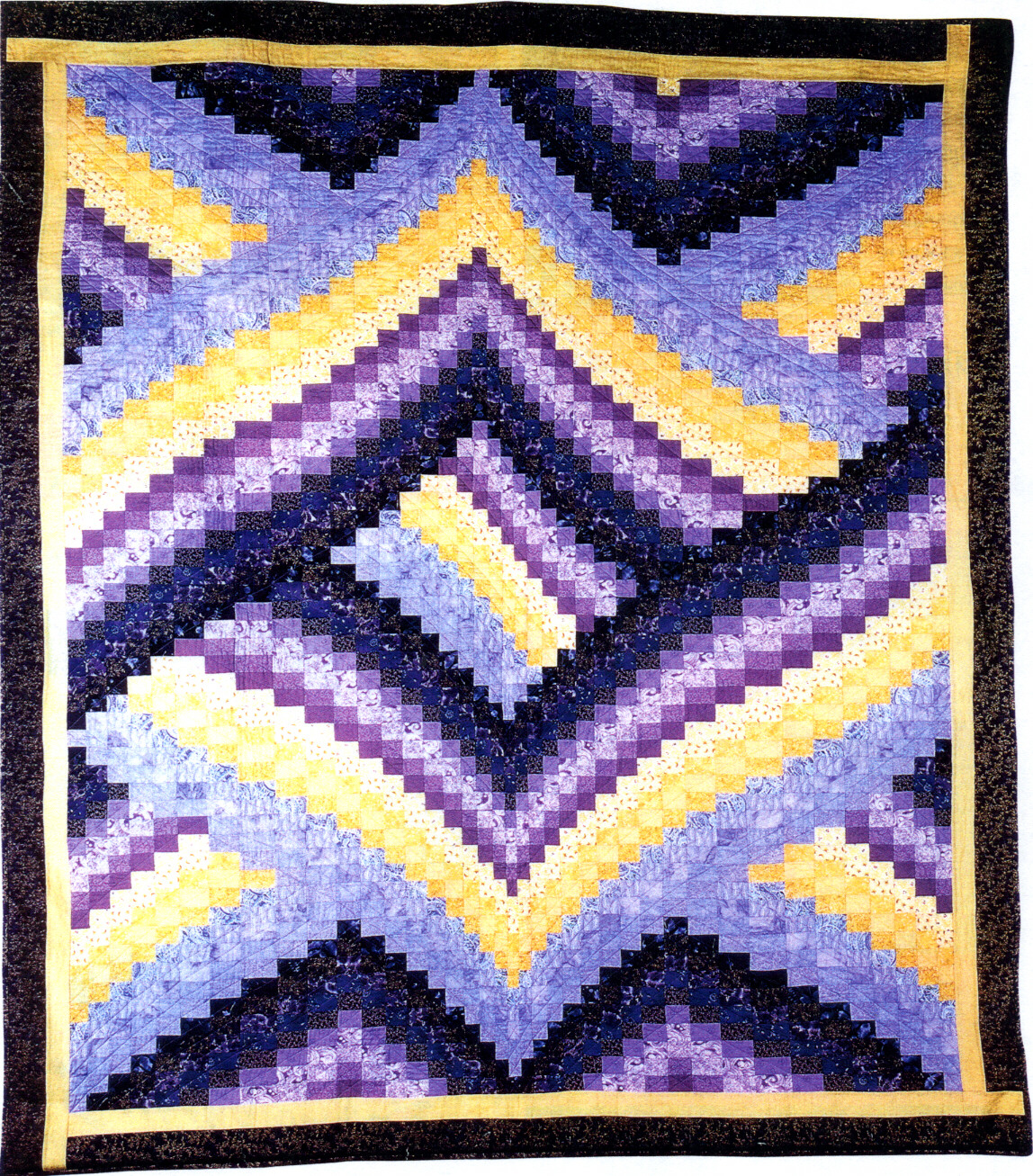 Twisted Bargello Quilt Pattern Free New Decorating Ideas
