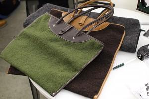 Boiled Wool Bags Photo