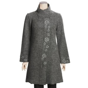 Boiled Wool Coat Image