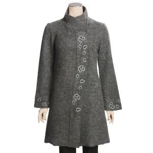 Boiled Wool Coat Image