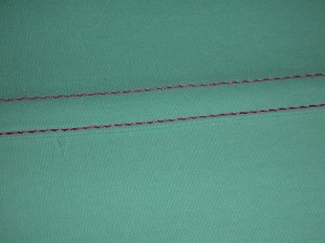 Difference between Flat Felled Seam and French Seam Picture