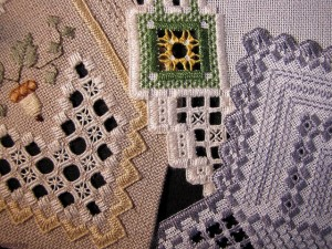 Hardanger Embroidery Picture