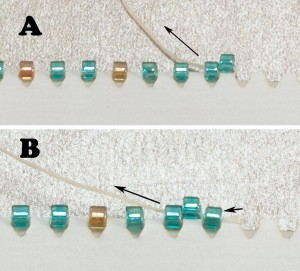 Pictures of Peyote Stitch Instructions