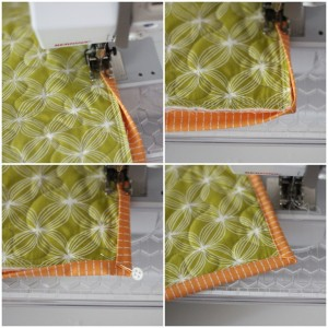 Binding Quilt Mitered Corners Pictures