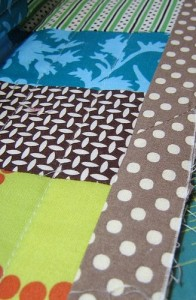 Photo of Binding a Quilt