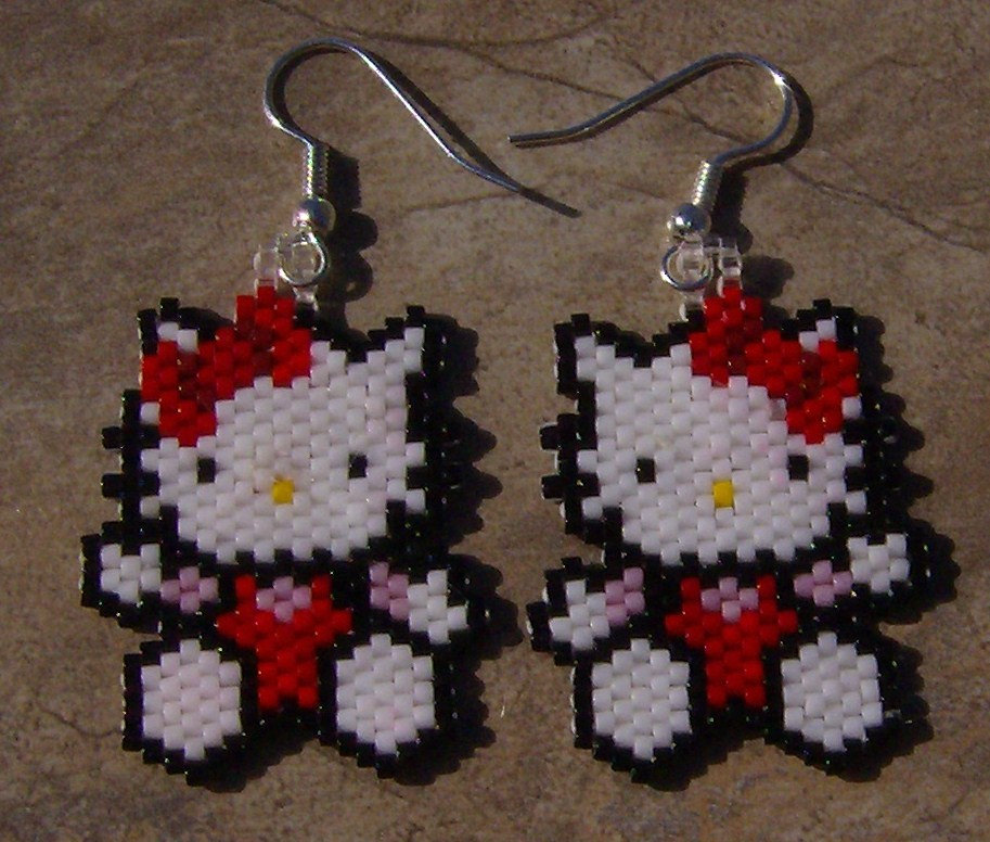angel earrings beaded drift jewelry waml shop il fullxfull mystic brick stitch