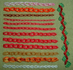 Picture of Chain Stitch