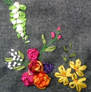 Photos of French Knot Embroidery Pattern
