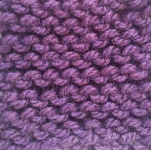 Garter Stitch Picture
