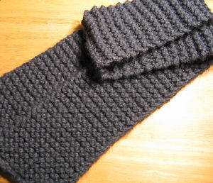 Images of Garter Stitch Scarf