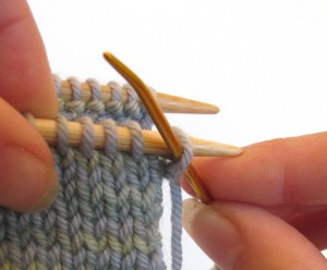 Knitchener Stitch Setup 1 Pictures
