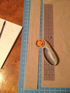 Making Quilt Binding Strips Photos