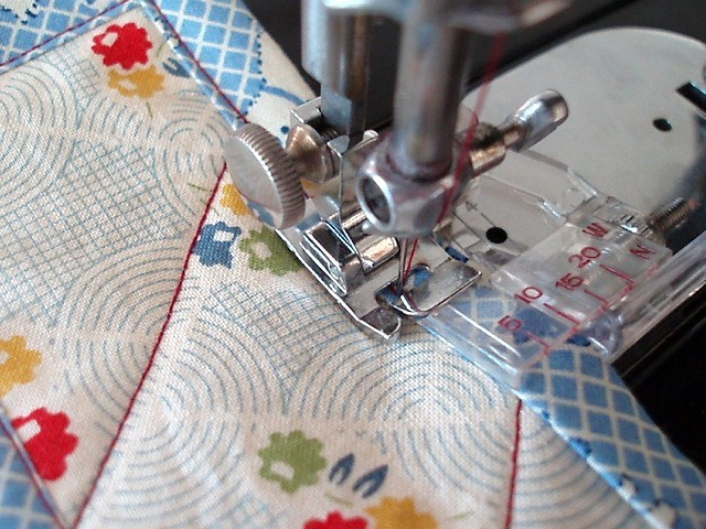 Quilt Binding Tutorial | Stitch Piece n Purl : applying quilt binding - Adamdwight.com