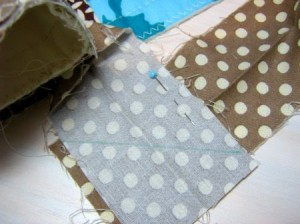 Images of Quilt Binding Instructions