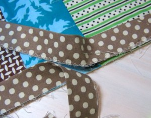 Pictures of Quilt Binding Tutorial