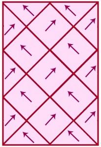 Knitting Pattern Chart Diagram Photo