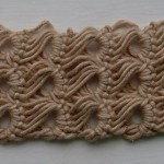 Broomstick Lace Bracelet Pattern Picture