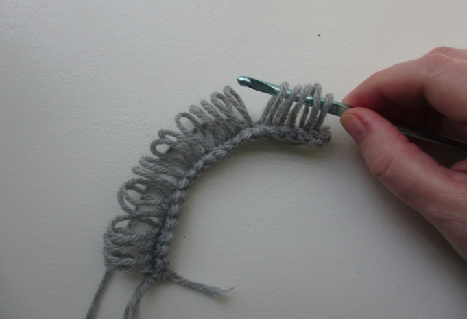 Broomstick Knitting Pattern : Broomstick Lace Crochet Tutorial and Patterns Stitch Piece n Purl