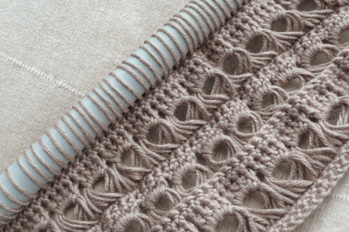 Crochet Lace Stitches : Broomstick Lace Crochet Tutorial and Patterns Stitch Piece n Purl