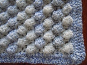 Knit Popcorn Stitch Baby Blanket : Popcorn Stitch Crochet Tutorial and Patterns Stitch Piece n Purl
