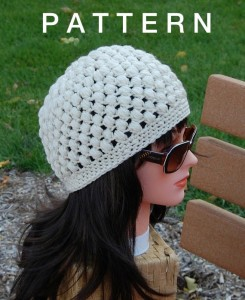 Pictures of Popcorn Stitch Crochet Hat
