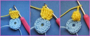 Images of Popcorn Stitch Flower