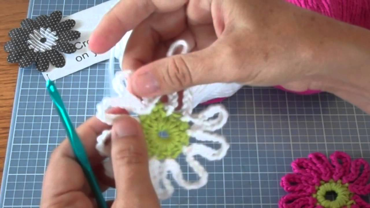 Lazy daisy stitch tutorial and patterns stitch piece n purl images of how to crochet a lazy daisy izmirmasajfo