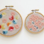 Lazy Daisy Hand Embroidery Pictures