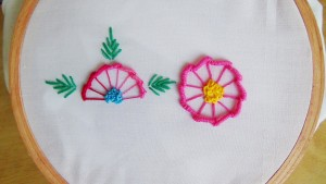Blanket Stitch Embroidery Flowers Pictures