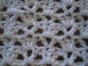 Crochet Open Shell Stitch