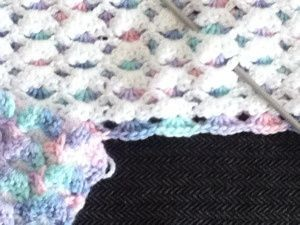 Crochet Reverse Shell Stitch