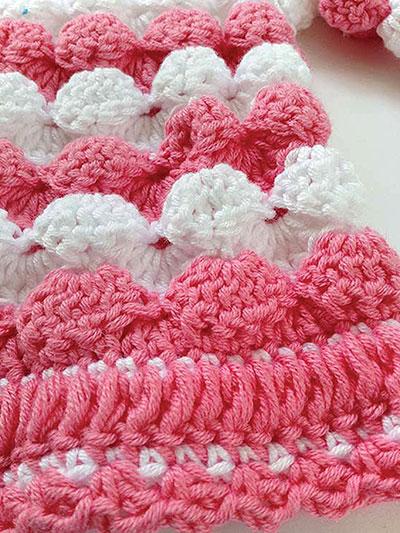 Crochet Sell Stitch Tutorial and Patterns | StitchPieceN ...