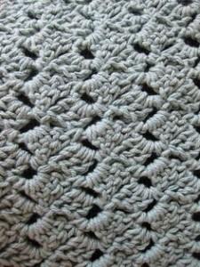 Crochet Slanted Shell Stitch