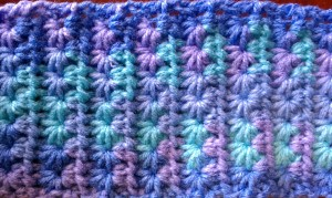 Crochet Star Stitch Baby Blanket
