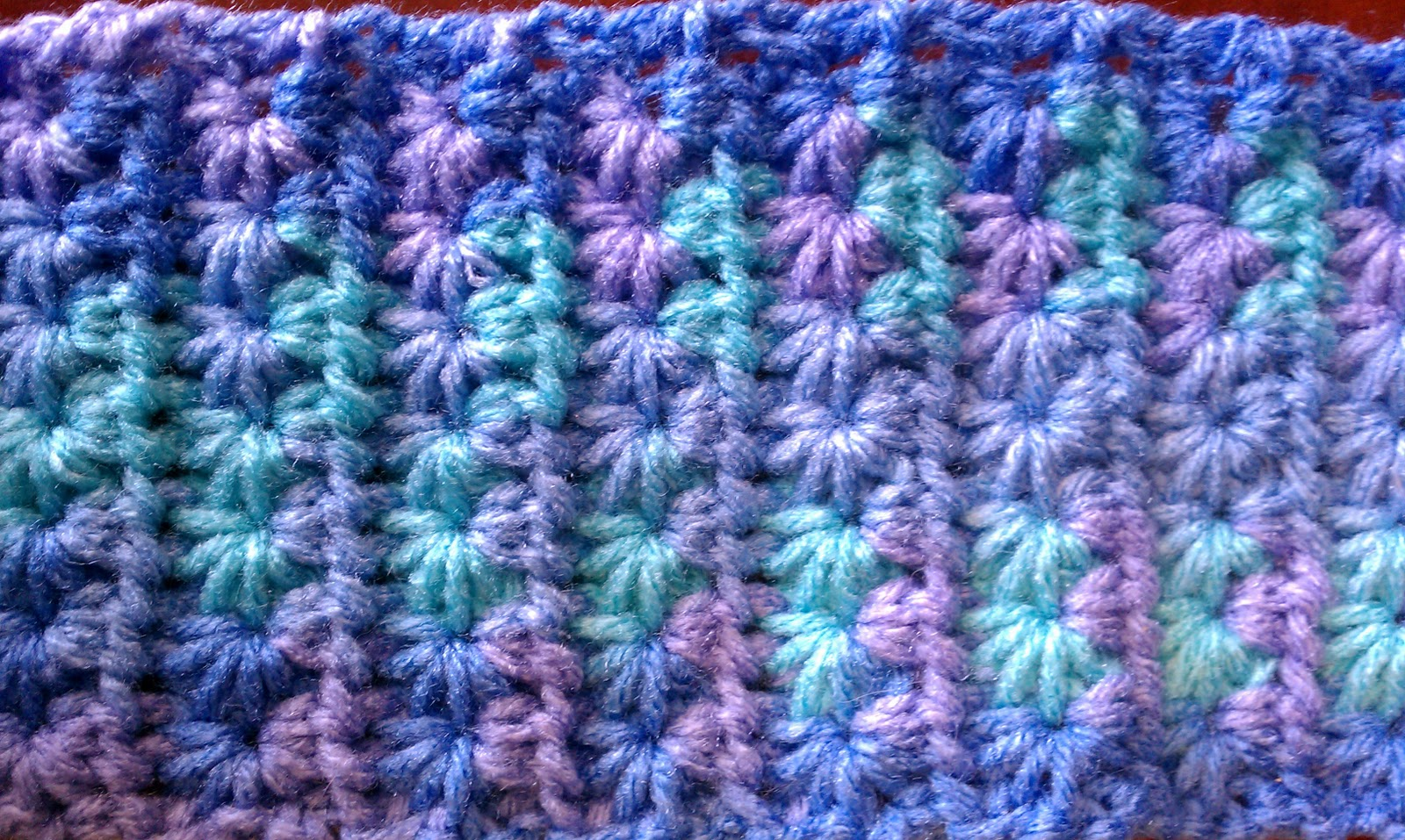 Crochet Knit Stitch Instructions : Crochet Star Stitch Tutorial and Patterns Stitch Piece n Purl