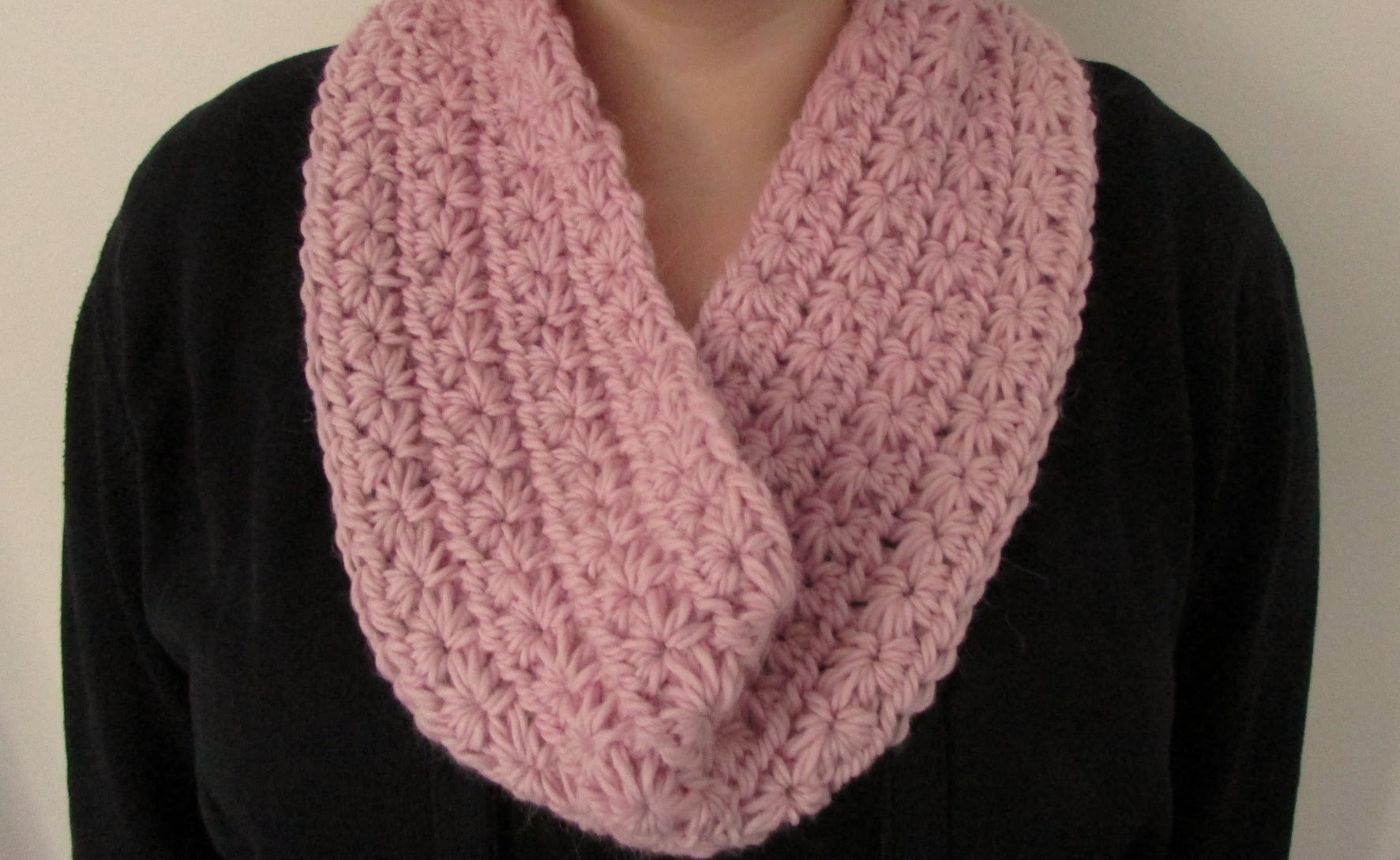 Crochet Stitches For Scarf : Crochet Star Stitch Tutorial and Patterns Stitch Piece n Purl