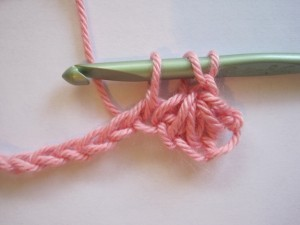 Crochet Star Stitch Step 5 Pictures