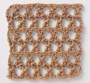 Crochet Stitch Star Mesh