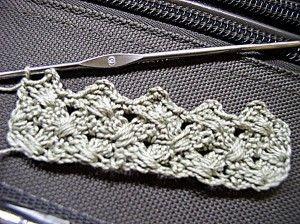 Crochet Woven Shell Stitch