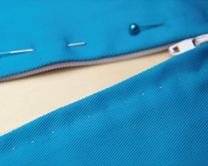Pick Stitch Zipper