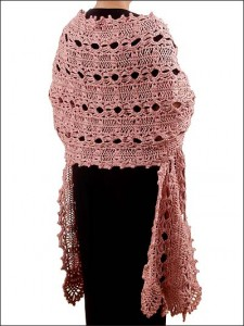 Hairpin Lace Shawl Free Pattern