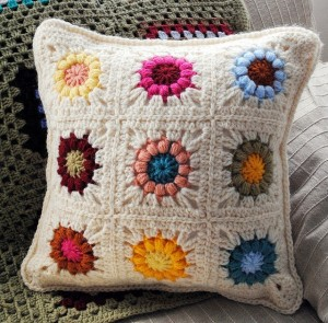 Puff Stitch Pillow