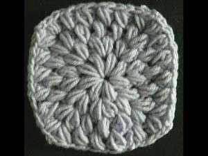 Puff Stitch in The Round